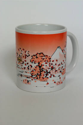 Kubek NatiMug Mount Fuji Seen Though Cherry Blossom