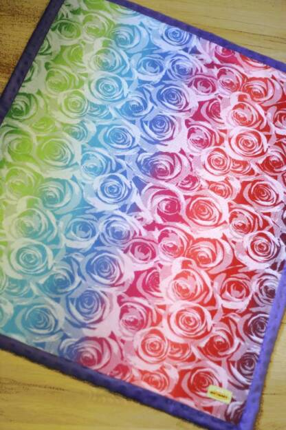 Kocyk NatiBlanket Roses white rainbow #2 Natibaby -MG-6758.JPG