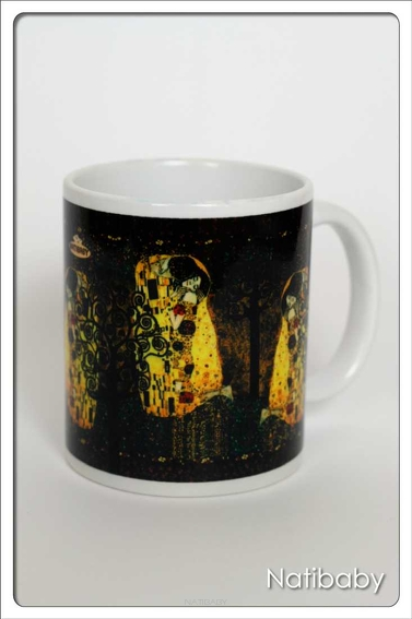 Kubek NatiMug The Kiss White